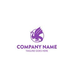 dragon logo-8 vector image