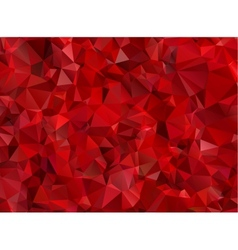 Garnet red abstract background polygon vector image