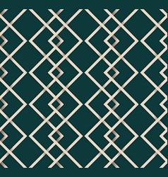 seamless pattern line vintage vector image vector image