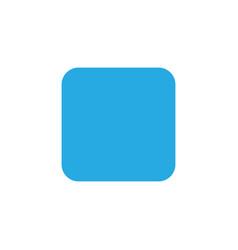stop colorful icon symbol premium quality vector image vector image