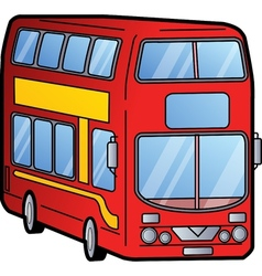 Double Decker Bus vector image vector image