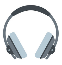 headphone icon isolated vector image vector image
