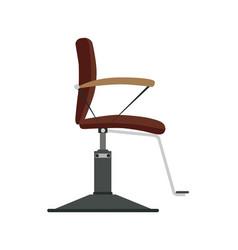 barber chair shop barbershop salon hair vector image vector image
