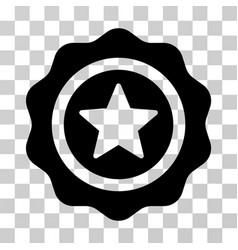reward seal icon vector image