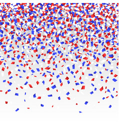 confetti background seamless vector image vector image