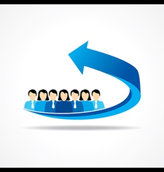 Business Teamwork concept vector
