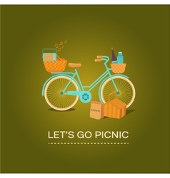Let s go to picnic vector