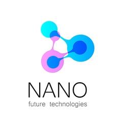 Nano logo vector