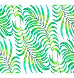 Palm Leaf pattern2 vector image