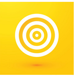 target on a yellow background vector image