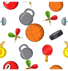 Training pattern cartoon style vector
