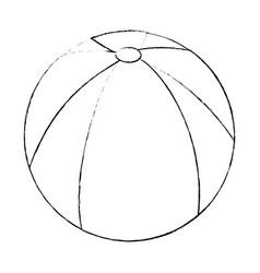 ball icon image vector image