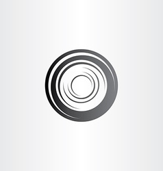 car wheel symbol design vector image