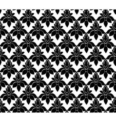 Vintage black pattern vector image vector image