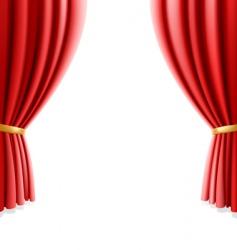 Theater curtain vector