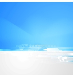 Abstract technology bright background vector