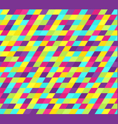 bright parallelogram pattern seamless vector image