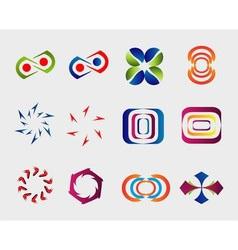 Business Logo element Set vector