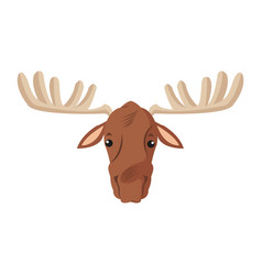 Deer animal iocn vector