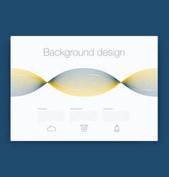 Futuristic user interface ui technology vector