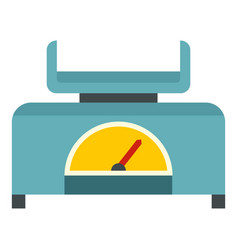 Mechanical scales icon isolated vector