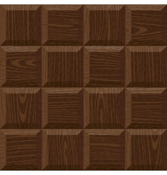 seamless oak square parquet vector image vector image