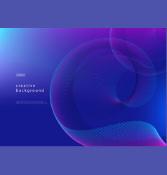 Abstract background design fluid gradient with vector