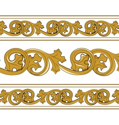 Classic royal style ornament pattern vector