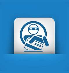 Credit card theft vector