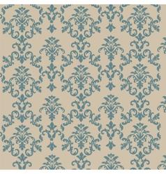 Damask style ornament pattern vector