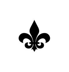 fleur de lis logo vector image