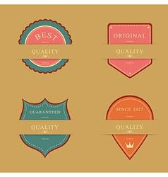 Label Design Set vector