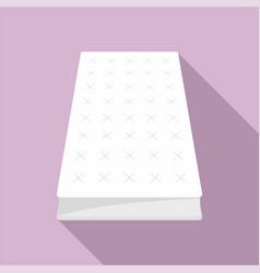 mattress icon flat style vector image