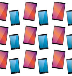 smartphone digital device icon image vector image