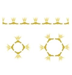 Wheat Icon Set vector