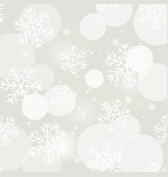 showflakes pattern winter christmas texture vector image vector image