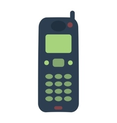 Telephones icon vector
