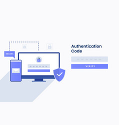 Authentication code for site vector