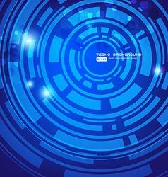 Blue Techno Background vector