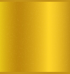 golden gradient background and gold glitter vector image