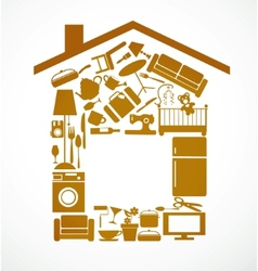 house set vector image