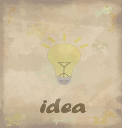 Ideas vector image