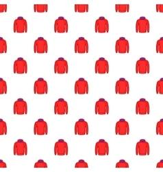 Men winter sweatshirt pattern cartoon style vector image