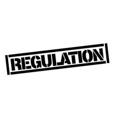 Regulation typographic stamp vector