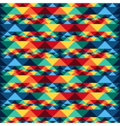 Tribal abstract seamless pattern aztec geometric vector