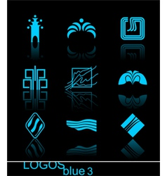 design elements - logos they are ideal for your de vector image vector image