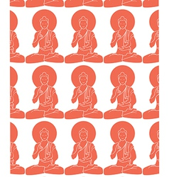 Buddhas vector image vector image