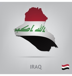 Country iraq vector