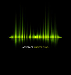 abstract music wave background vector image