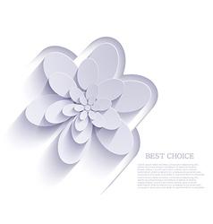 flower background Eps10 vector image